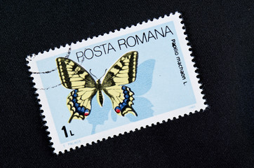 stamps butterfly