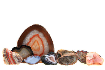 agate mineral collection