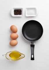 Scrambled eggs ingredients