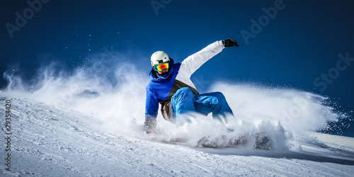 Foto op Plexiglas Wintersporten control
