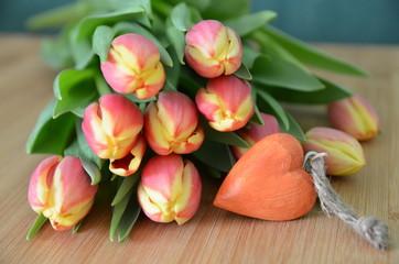 Frühlingsgruß mit Herz