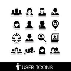 User icons set 4.