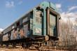 Alter DDR Zug Wagon