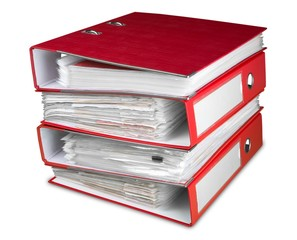 Stack of Binders