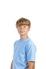 portrait of happy smiling boy