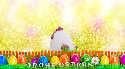 Osterkarte