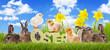 Ostertiere Ostern