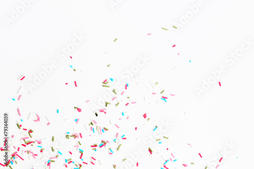 Colorful candy sprinkles Poster