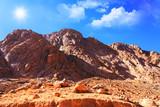 Fototapeta Mount Moses in Sinai, Egypt