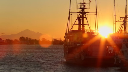 Steveston Harbor Sunrise