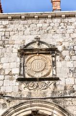 Stone ornament - Dubrovnik Croatia