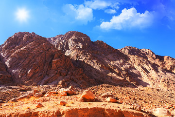 Mount Moses in Sinai, Egypt