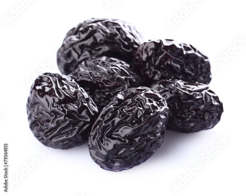 Papiers peints Fruits Dried prune in closeup