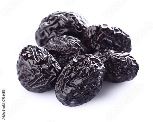Dried prune in closeup