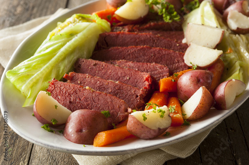 Homemade Corned Beef and Cabbage - 79368079