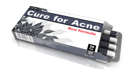 Cure for Acne - Blister Pack Tablets.