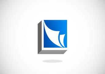 document file paper vector logo