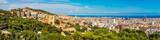 Panoramic view of Barcelona - Fine Art prints