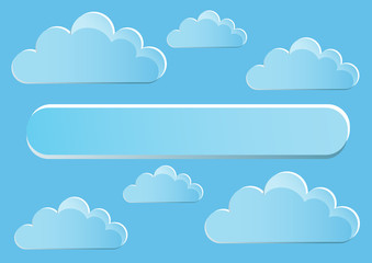 Page 1of 5  Mock-up for Infographic with  Clouds.