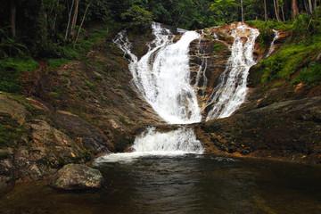 Waterfalls at Cameron Highlands, Malaysia..