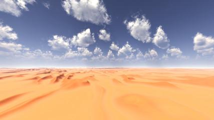 Dry desert.