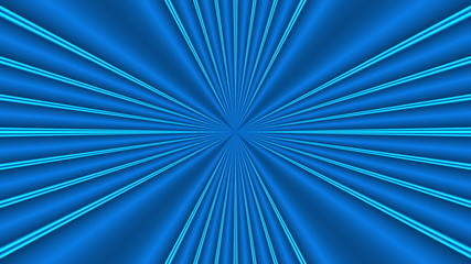 blue abstract loop motion background, rays light