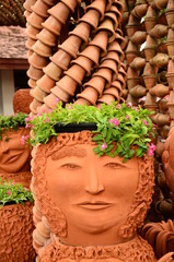 face earthenware
