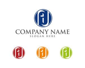 AU Letter Logotype