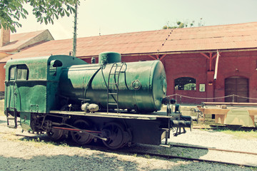 Historical Steam Locomotive