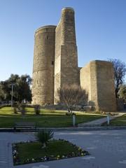 Baku. The Maiden Tower. Built in XII century.