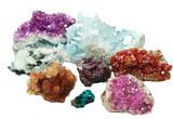 celestite quartz aragonite vanadinite erythrite geological cryst