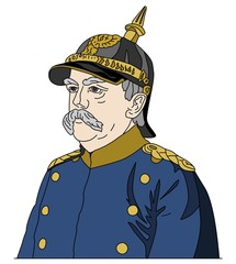 "Otto von Bismarck, the ""Iron Chancellor"""