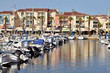 Port of Argelès-sur-Mer in France