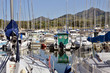 Marina of Argelès-sur-Mer in France