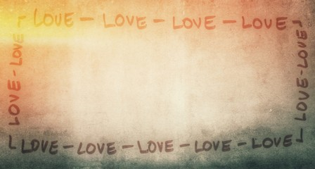 love background template...