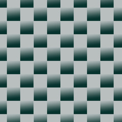 abstract squares green background illustration