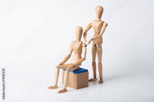 Leinwandbild Motiv Massage, Physiotherapie