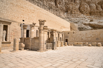 temple of Hatshepsut near Luxor in Egypt
