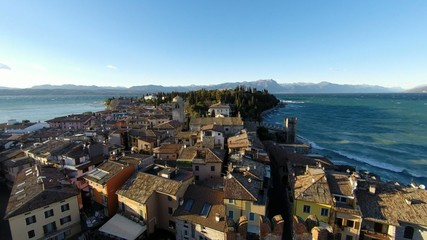 village of Sirmione on the Lake Garda