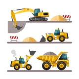 Construction equipment and machinery. - 79389251