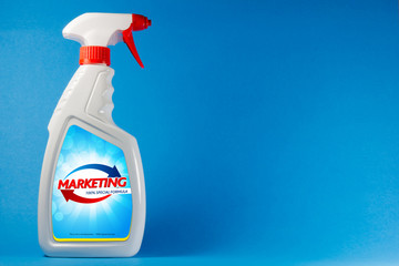 nebulizzatore, spruzzino, marketing