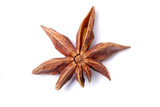Top view of aromatic star anise. poster