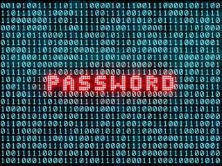 Password and binary code