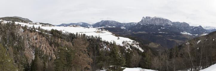 Panorama of Ritten/Renon