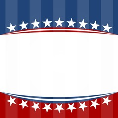 USA flag patriotic background - Illustration