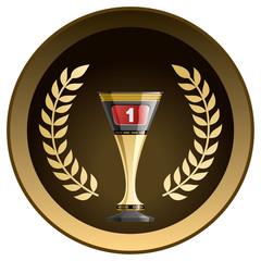 Racing prize grunge