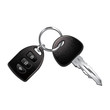 Car keys isolated on white vector - 79396229