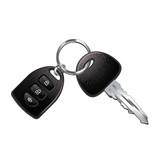 Car keys isolated on white vector