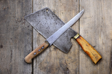 Metzgerei Hackmesser Messer