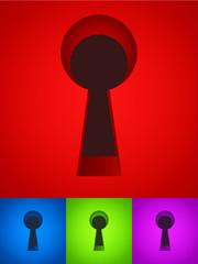 Keyhole vectors